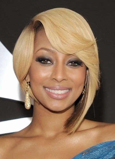 African American Short Hairstyles - Blonde Hair