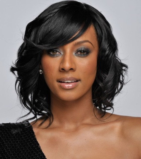 Black Curly Prom Hairstyles 2013