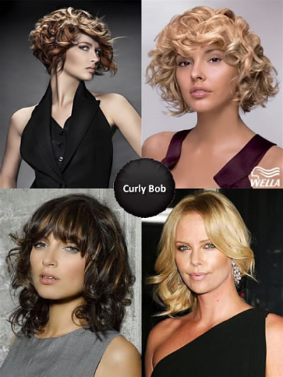 Curly Bob Hairstyles 2013