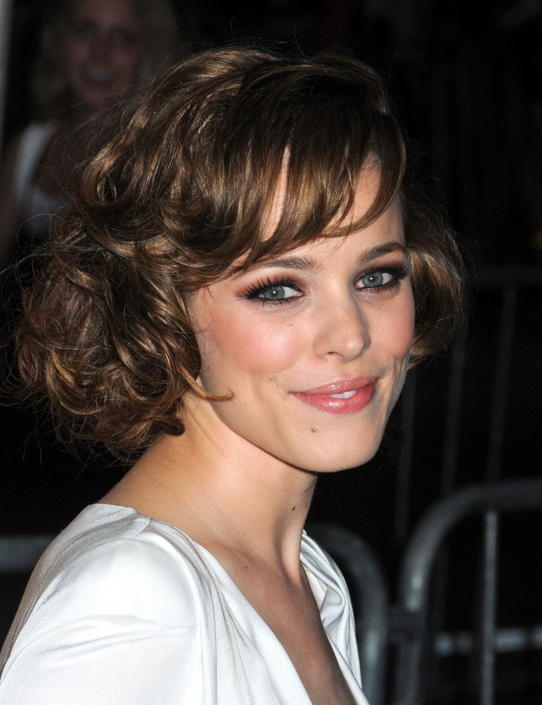 Curly Bob Hairstyles With Fringe