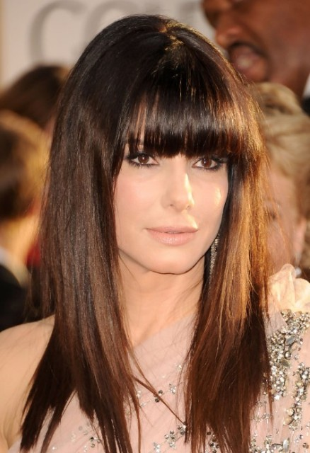 Cute Long Hairstyles With a Bang 2013