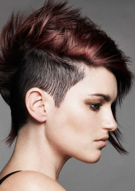 Short Punk Hairstyles for Women : CircleTrest