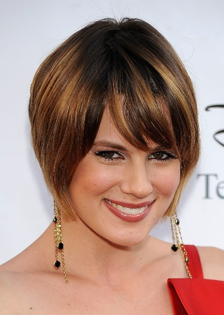 Pics Photos  Best Short Hairstyles For Square Faces