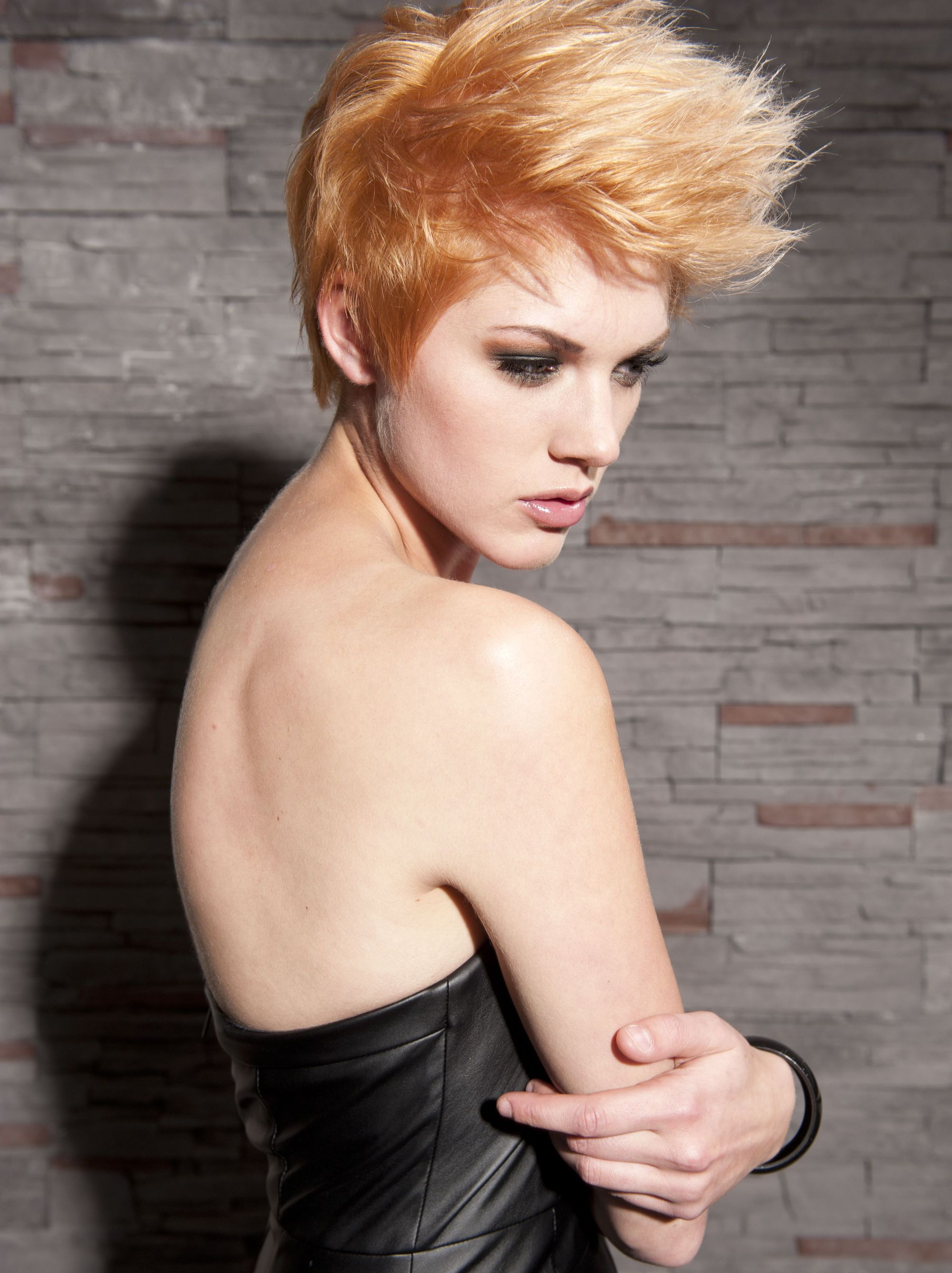 Teenage Girl Punk Short Hairstyles