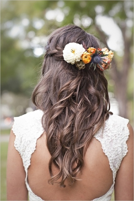 14 Wedding Hairstyle Ideas for Long Hair - CircleTrest