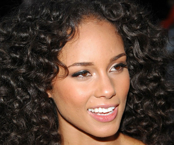 curly bob hairstyles with weave - Alicia Keys