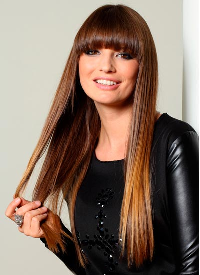 Haircut Styles For Long Thin Hair: Skinny Long Straight Hairstyles