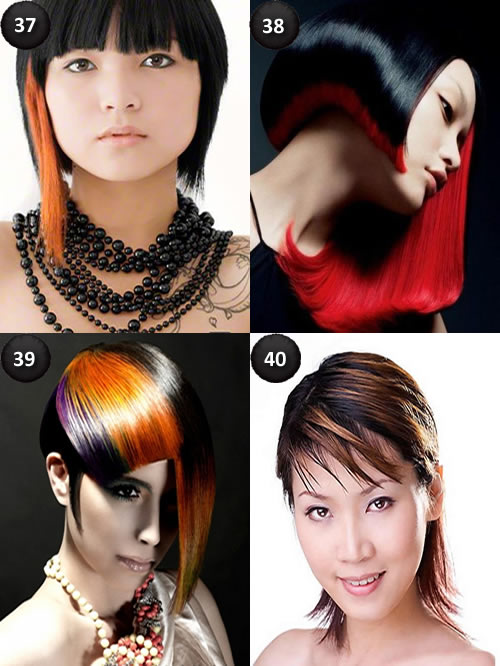 Cool Colors For Short Hair Circletrest
