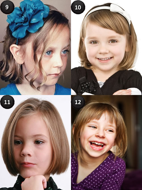 hairstyles for kids with medium hair