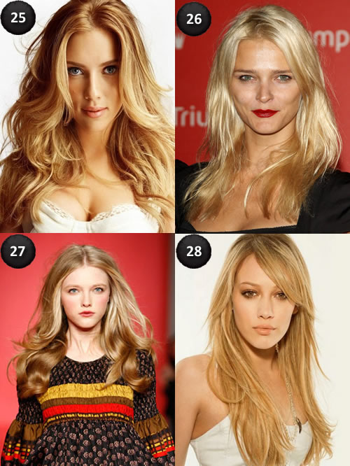 Blonde Work Hairstyles for Long Hair