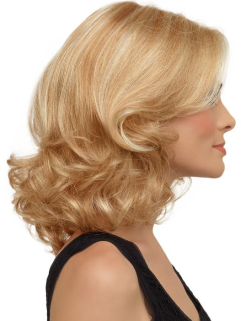 16 latest medium length hairstyles for square faces � wigs