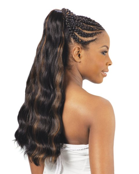 African Braided Hairstyles for long hair 2