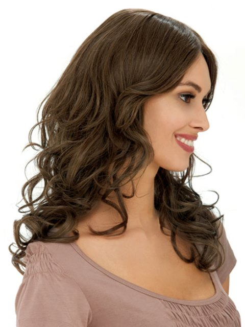 Curly Shoulder Length Hairstyles 2
