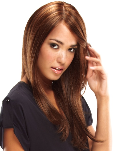 Cute Long Hairstyles for Round Faces