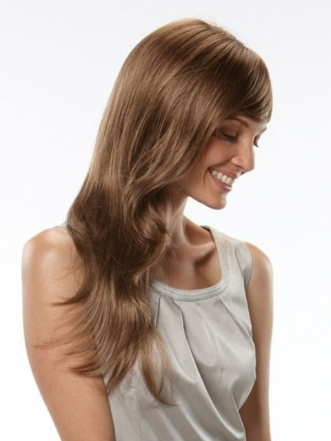 Long Wavy Hairstyles for women over 40 2