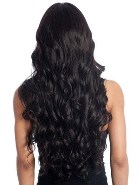 Long Wavy Sophisticated Style Synthetic Wig 2