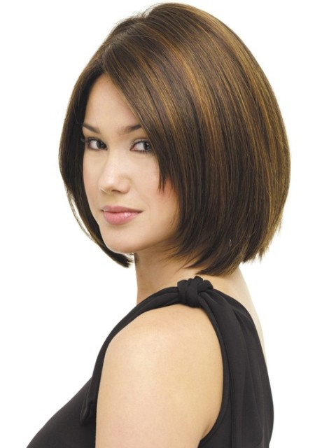 14 Finest Medium Length Hairstyles For Round Faces Circletrest