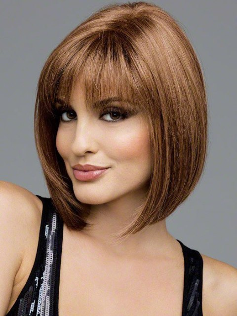 Medium Stylish Medium Graduated Bob Hairstyles 2014 With Wavy Effect ...
