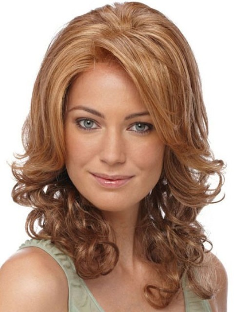 medium length layered hairstyles for round faces 15 fine looking medium layered hairstyles with pics