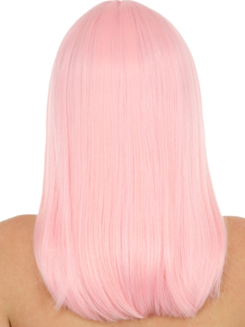 Pink Bleached Hairstyles for Women-2