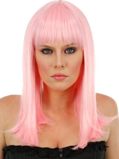 Pink Bleached Hairstyles for Women