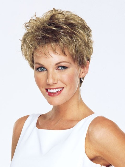 Short Hairstyles for Curly Hair for square faces