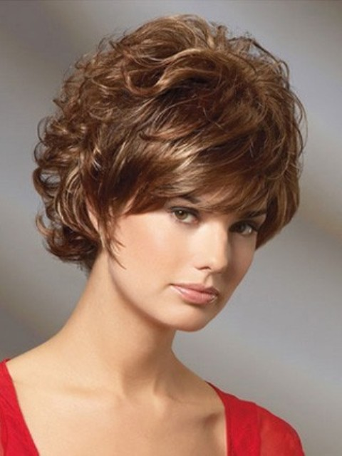 16 Adorable Short Hairstyles for Curly Hair - Featuring WIGS - CircleTrest
