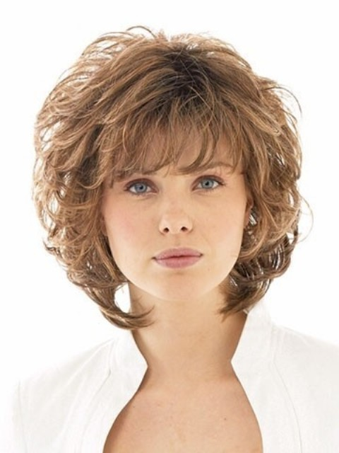 Layered Haircuts For Wavy Short Length Hair