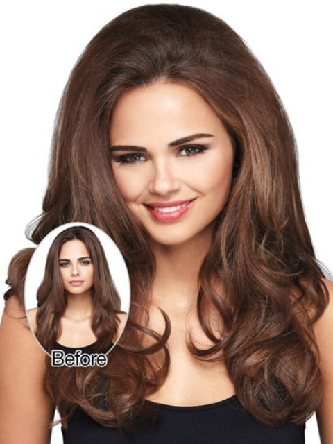Wavy Long Hairstyles for Thick Hair - GIRLS
