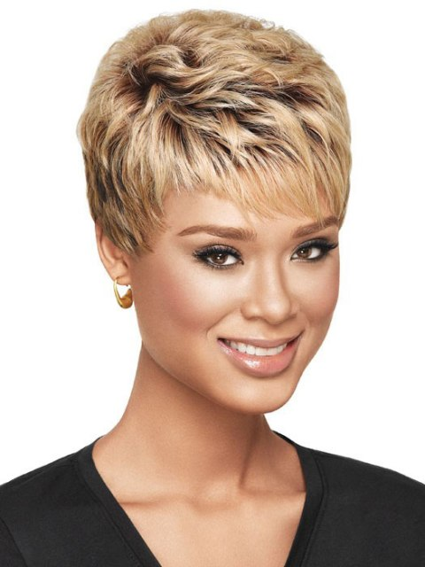 20 New and Cute Short Haircuts for Black Women : CircleTrest