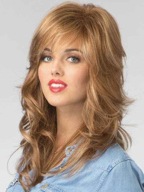 ... Long Hairstyles for Round Faces – Includes WIGS | CircleTrest