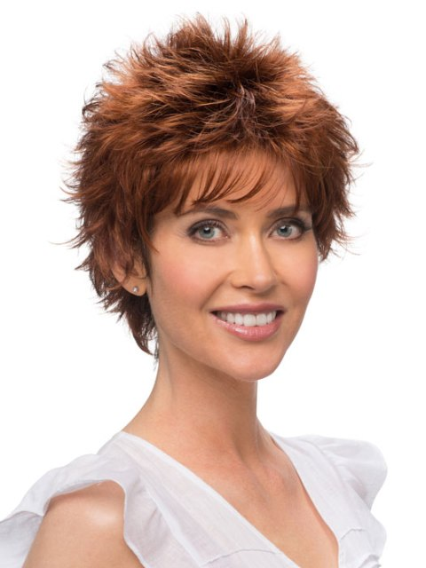 latest  short hair cuts for women over 60