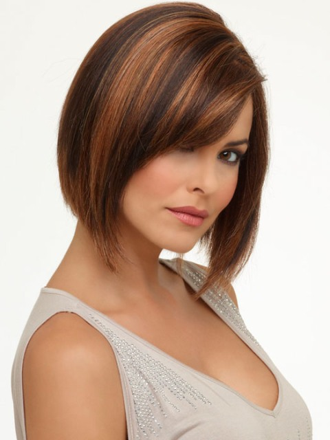 latest  short hair cuts for women with brown hair