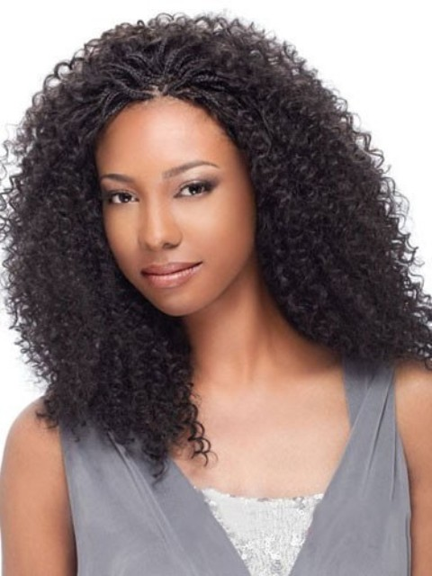 latest Short Straight Capless Style Synthetic Wig for black women