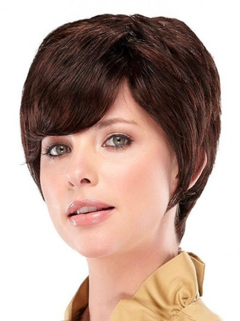 short wispy hairstyles : Pics Photos - Short Bob Hair With Wispy Bangs