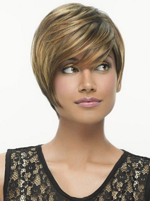 Angled Short Hairstyles