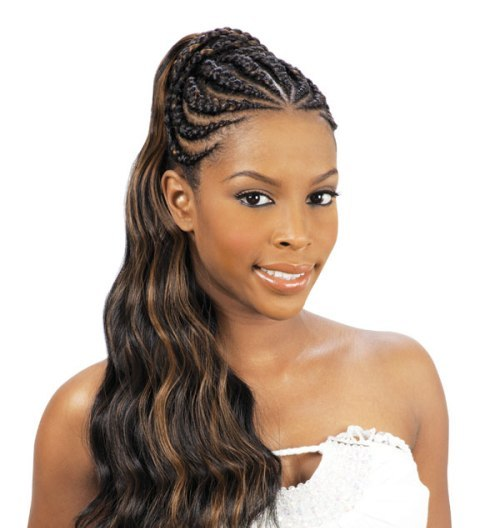Beautiful African Braided Hairstyles for Black Women