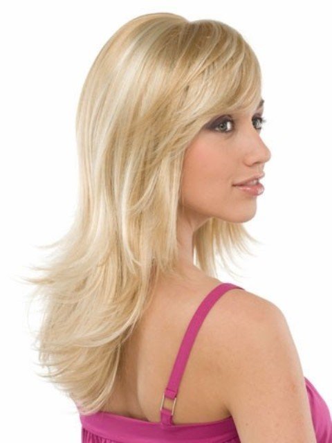 Blonde Long  Hairstyles With Bangs-2