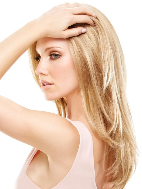 Blonde Long hairstyles for fine hair-2