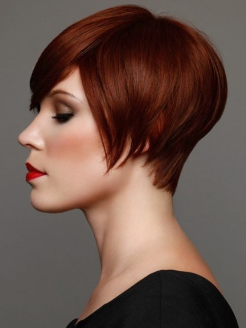 Brown Bob Haircuts-2