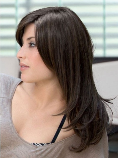 Easy Long  Hairstyles With Bangs-2