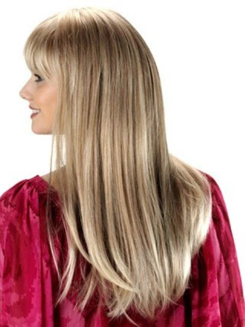 Long sleek hairstyles for fine hair-2