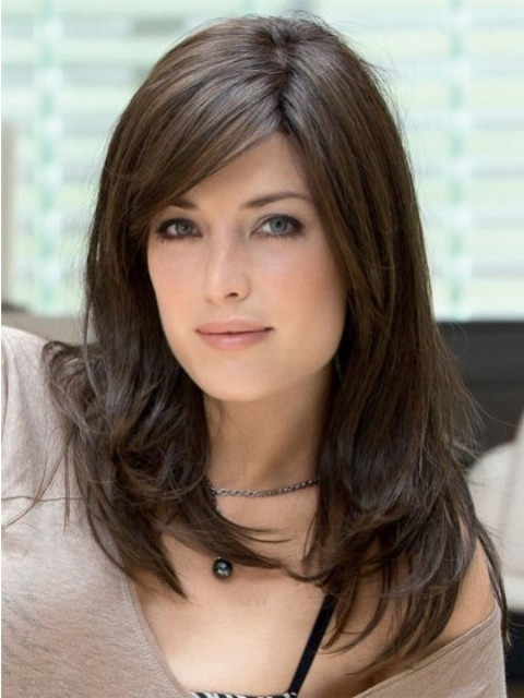 medium hairstyles for square faces : Magnificent Oval Face Hairstyles : Medium Haircuts For Oval Faces