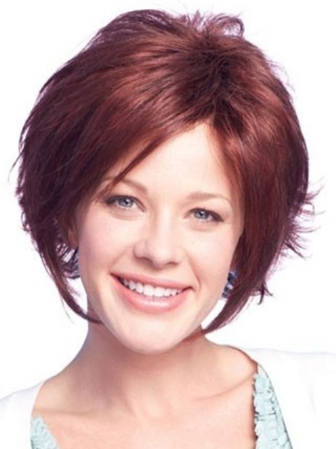 Short Hairstyles For Thick Wavy Hair And Oval Face : Breathtaking short hairstyles for oval faces with