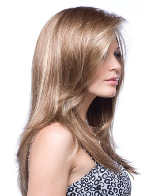 Soft Long hairstyles for fine hair