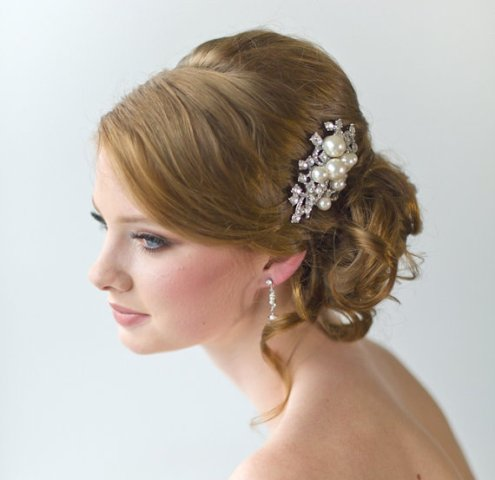Wedding Hairstyles for soft hair