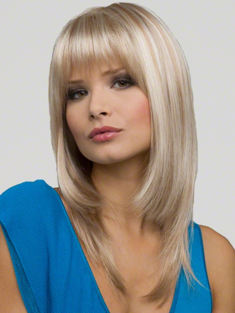 Trendy Medium Length Hairstyles For Round Faces Pictures