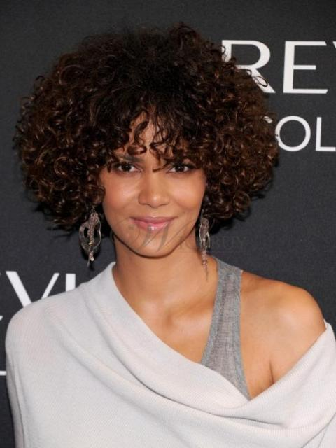 Charming Curly Hair Bob Hairstyles For Black Women