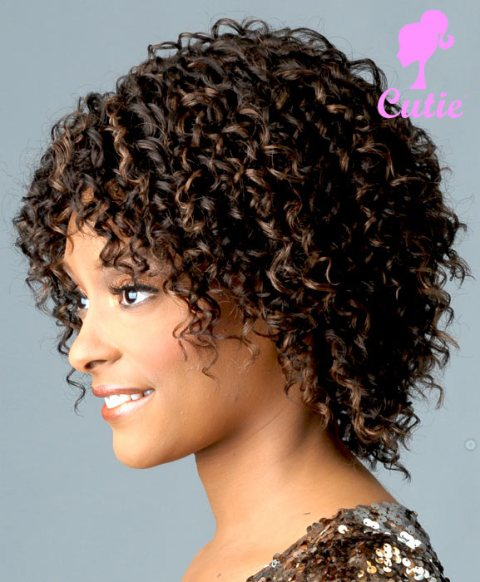Classic Curly Hair Bob Hairstyles For Black Women-2