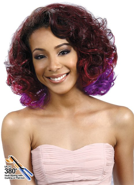 Curly Hair Bob Hairstyles with color